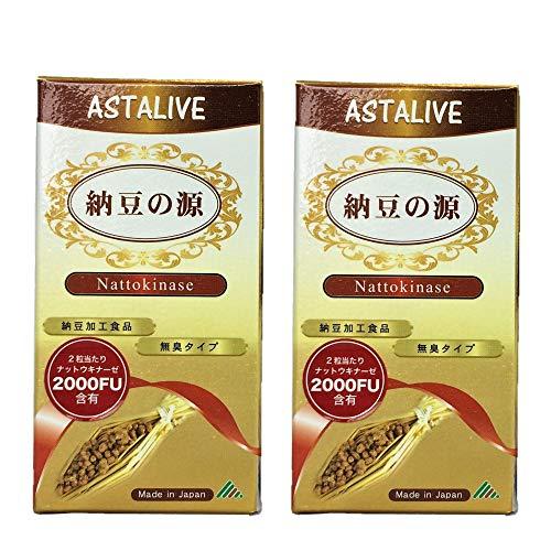 ASTALIVE 納豆の源 ナットウキナーゼ 60粒( 無臭タイプ) (2)