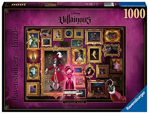 Ravensburger Puzzle 15022 - Villainous Captain Hook - 1000 Teile Puzzle für Erwa...