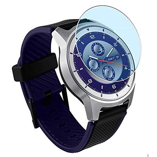Vaxson 3 Stück Anti Blaulicht Schutzfolie, kompatibel mit ZTE Quartz Smartwatch, Displayschutzfolie Bildschirmschutz [nicht Panzerglas] Anti Blue Light