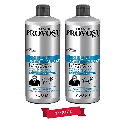 Franck Provost professionnel Anti pellicules Shampoing, 750 ml, Lot de 2, convient pour les hommes & femmes, NEUF