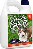 Cleenly - Detergente per erba artificiale per cani - fragranza di erba appena tagliata - 5 litri - Elimina gli odori di urina del cane.