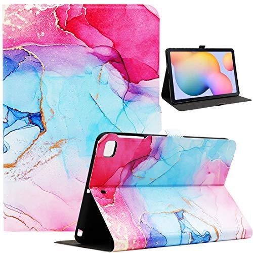 Bbjjkkz iPad Mini Case, Case for iPad Mini 4, iPad Mini 5 Case, iPad Mini 2/3 Case, Ultra Slim PU Leather Folio Smart Stand Case for 7.9 Inch iPad Mini 2/3/4/5 Tablet, Colored Marble