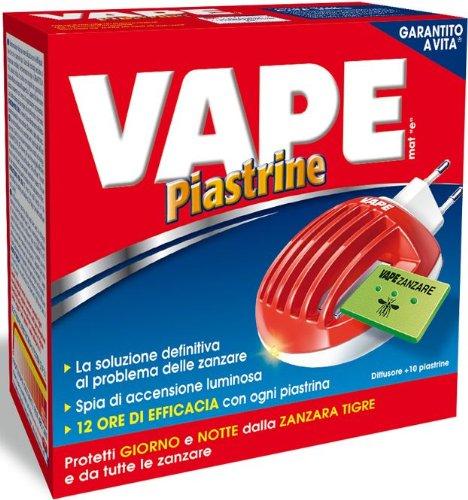 Plaquetas insecticida anti-mosquitos eléctrico a Vape + 10 Plaquetas