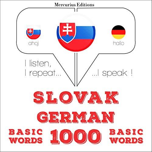 Slovak - German. 1000 basic words cover art