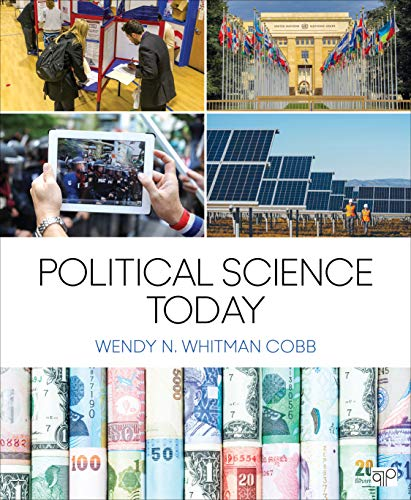 Compare Textbook Prices for Political Science Today 1 Edition ISBN 9781544336442 by Whitman Cobb, Wendy N.