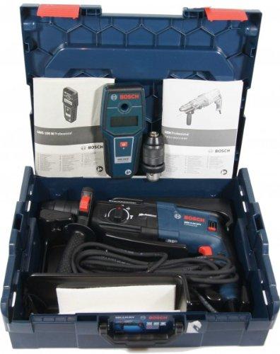 BOSCH Bohrhammer-Set GBH 2-28 DFV + Extra: GMS 100 M
