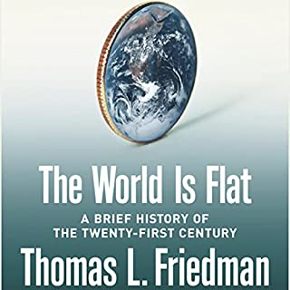 The World Is Flat audiobook cover art