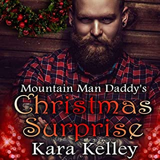 Mountain Man Daddy's Christmas Surprise audiobook cover art