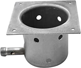 Stanbroil Heavy Duty Steel Fire Pot Burner Box Replacement for Traeger Pellet Grill
