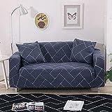WXQY Sofabezug im böhmischen Stil Sofabezug aus reinem Baumwoll-Stretch-Wohnzimmer Sofabezug Einzel-Sofabezug Sessel Chaiselongue A4 1-Sitzer