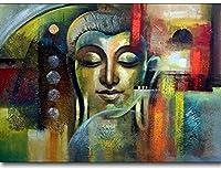 5D Diamond Painting Diamond Diy Buddha Religion Cross Stitch Mosaic Painting Decor(Round Diamond) 40X50Cm