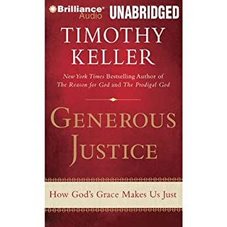 Generous Justice audiobook cover art