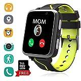 Montre Telephone Musique Enfant - Lecteur MP3 Smartwatch avec LBS AGPS Tracker SOS...
