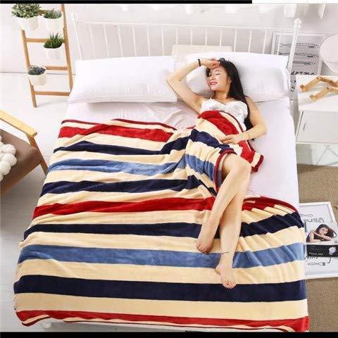 Epty flanellen deken, comfortabel, pluizig, voor slaapbank en slaapkamer