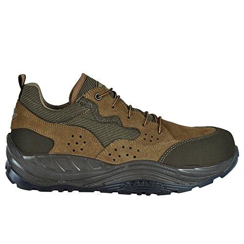 Cofra 40-55040001-43 - Zapatos de seguridad Waitai S1 P Src Maxi Confort 55040-001 zapatos, marrón, tamaño 43