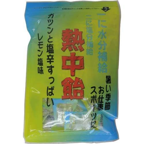 井関食品 熱中飴 レモン塩味 100g