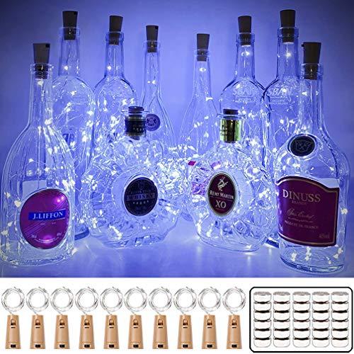 16 Pack Luz de Botella, Luz Corcho Led, Luces Botellas de Vino...
