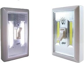 Brillar BR0012 BR0012 Wireless Light Switch with COB LED Technology Lamp Efficient Bright Wireless Home Kitchen Hallway