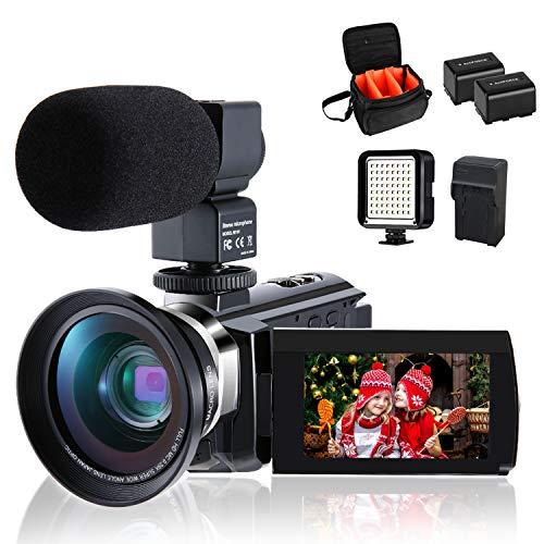 4K Camcorder Vlogging Video Camera for...