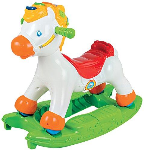 Baby Clementoni- Disney Schaukelpferd, Weiß, Einheitsgröße (65477.2)