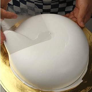 NszzJixo9 Baking Pastry Tools Plain Smooth Jagged Edge Spatulas Cutters Cake Decorating Cake Plastic Scraper