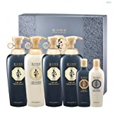 [Doori] Daeng Gi Meo Ri KI Gold Energizing Shampoo (500ML) & Conditioner (500ML) Set (4 Big Bottles & 2 Travel Sized Bottles)