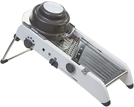 Progressive 55600 Professional Mandoline, White/Gray