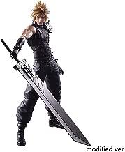 Yanshangqi Final Fantasy VII Cloud Strife (Remake Version) Play Arts Kai Action Figure - 10.62 Inches