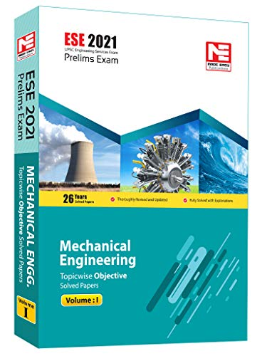 ESE 2021 Preliminary Exam : Mechanical Engineering Objective Paper - Volume I by MADE EASY: Vol. 1
