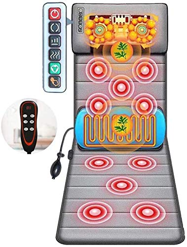 DC Wesley Neck massager Full-body Massager, Massage Cushion With Heated Massage Pad, Neck + Smart Six-key Control, Neck + Waist And Back Chinese Herbal Hot Compress, Waist Airbag Lift Massage, Neck Up