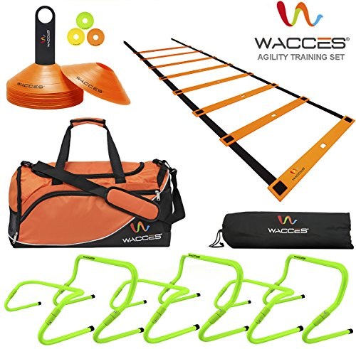 Wacces Sports Exercise & Fitness Training Equipment Speed & Agility Training Kit Combo Set - Orange