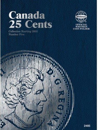 25 Cent Canadian Folder Vol. 5 (Official Whitman Coin Folder)