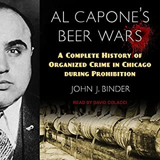Al Capone's Beer Wars audiobook cover art