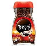 NESCAFÉ CLASSIC DESCAFEINADO todo aroma y sabor, café soluble descafeinado, frasco de vidrio, 100 g
