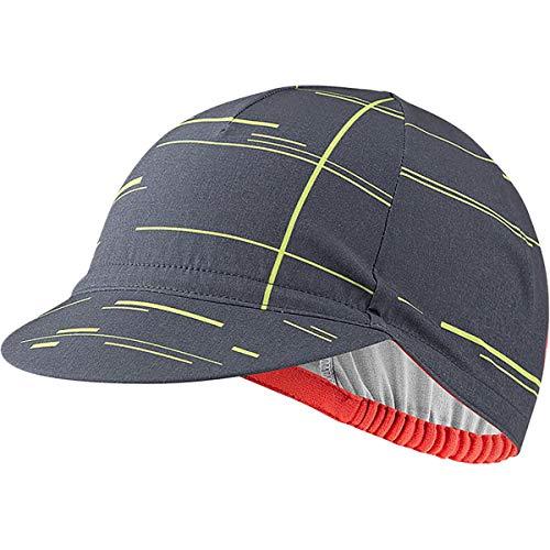 castelli UPF Cycling cap, Cappellino Uomo, Dark Steel Blue, Uni