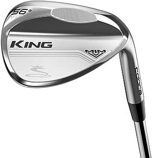 2019 Cobra Golf King Mim Wedge (Men's, Right Hand, Steel, Wedge Flex, Versatile Grind, 58.0 Degree)
