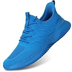 Mens Running Shoes Slip-on Walking Sneakers Lightweight Breathable Casual Soft Sole Trainers Zapatos de Hombre