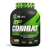 Muscle Pharm Combat Protein Powder, integratore alimentare proteine a rilascio graduale (etichetta in lingua italiana… - 51LO3s23WwL. SS166