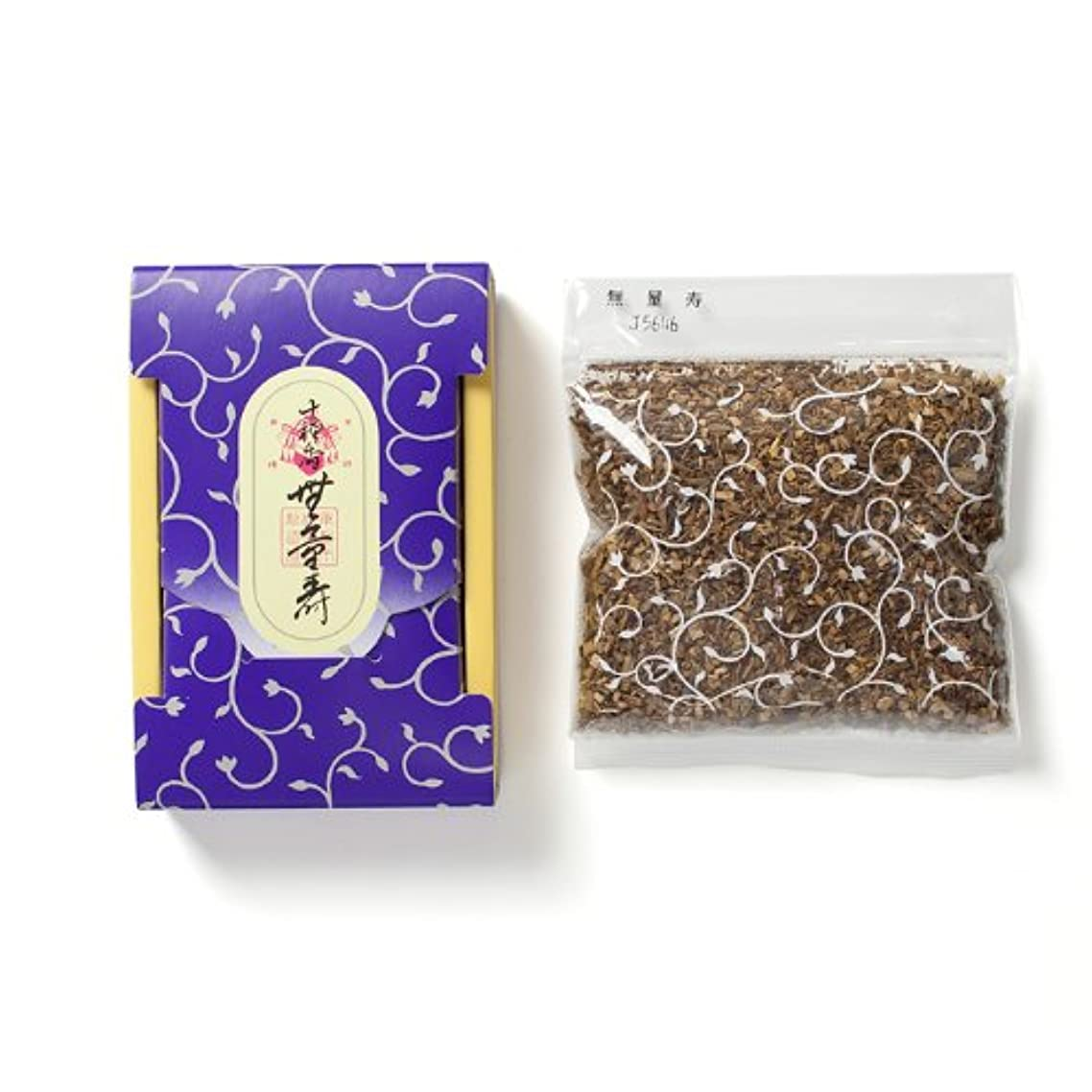 生物学防止儀式松栄堂のお焼香 十種香 無量寿 25g詰 小箱入 #410841