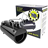 Southern Homewares Black Hole Gopher / Rodent / Mole Easy Set Spring Loaded Trap, Non-Toxic Pest Eliminator 2.0