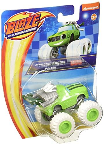 Fisher-Price Blaze, Vehículo Pickle, Vehículo de Juguete para niños de 3 años en adelante