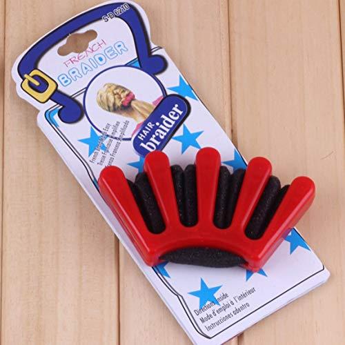 DIY Cheveux Tressés Femmes Tressé Centipede Tresse Française Styliste Éponge Tresse Cheveux Twist Styling Outil De Tressage fghfhfgjdfj