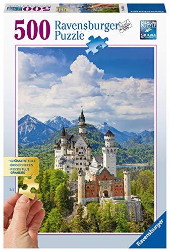 Ravensburger-13681 Puzle para adultos, diseño de castillo de Neuschwanein, Multicolor (13681) , color/modelo surtido