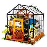Fsolis Miniatura de la casa de muñecas con Muebles, Equipo