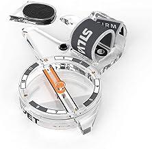 Silva ARC Jet S kompas, volwassenen, uniseks, transparant