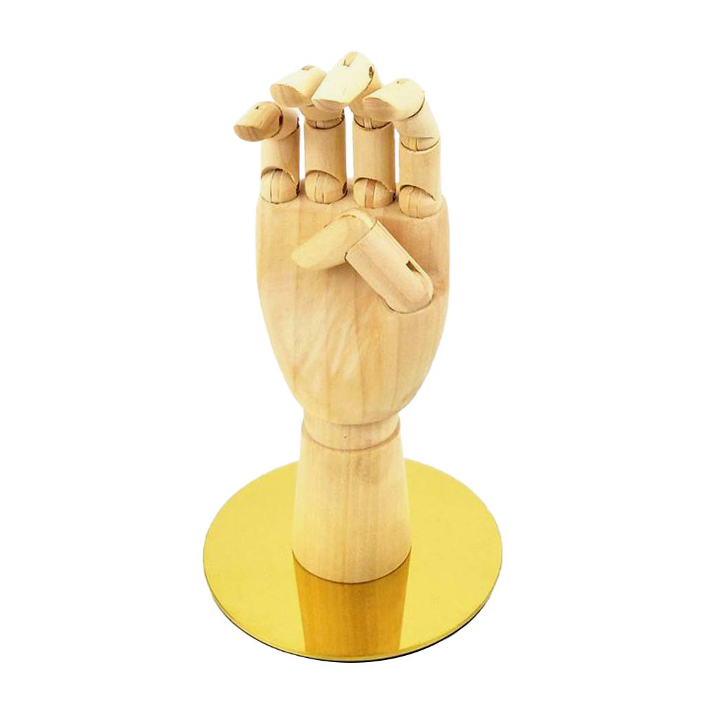 MagiDeal Flexible Wooden Hand New products world's highest quality popular Model Display Manik Elegant Mannequin