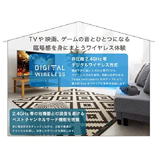 audio-technicaデジタルワイヤレスヘッドホンシステムaudio-technicaATH-DWL550