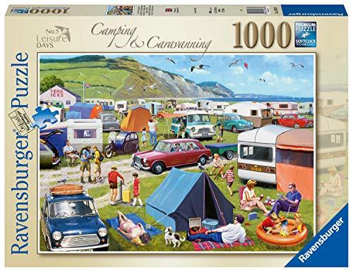 Ravensburger 16763 - Leisure Days Nr.5-Camping & Caravanning 1000 Teile Puzzle für Erwachsene & für Kinder ab 12 Jahren