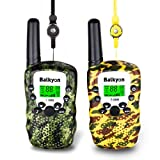 Walkie Talkies for Kids, Camouflage 2-Way Radio Kids Walkie Talkies with 22 Channels LCD Screen VOX Flashlight Handheld Walky Talky, Gift for Festival Birthday Camping Hiking