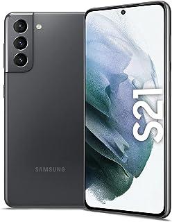 Samsung Galaxy S21 Dual SIM Smartphone, 128GB 8GB RAM 5G (UAE Version), Phantom Gray